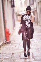 black MAD HANDS leggings - black emporio armani sunglasses