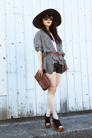 chiffon vintage blazer