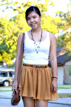 bronze Forever 21 skirt - tank Forever 21 top