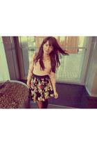 Tally Weijl skirt - SH sweater