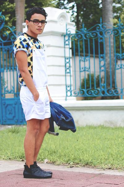 ankle boots Zara boots - denim Levis jacket - Imsopale bodysuit
