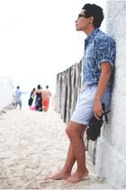 Stay High Baby shirt - Sfera shorts - gladiators Zara sandals