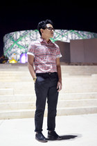 pull&bear shoes - River Island shirt - asos pants