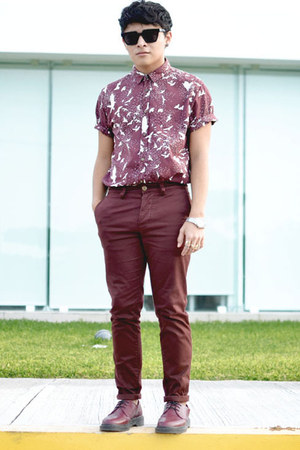 Dr Martens shoes - brave soul shirt - Nasty Gal sunglasses - asos pants