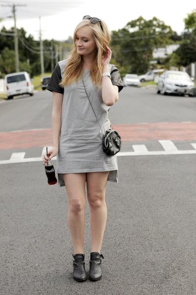 heather gray Premonition Designs dress
