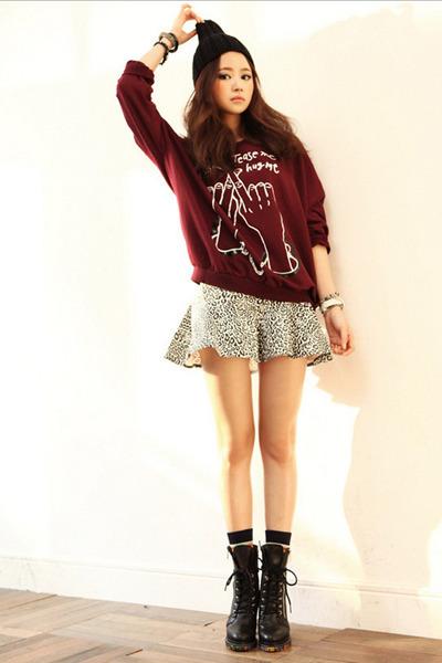 black skirt JAMYStyle by shez skirt