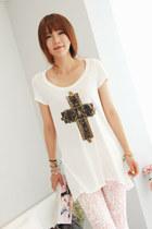 white tshirt Jamy t-shirt