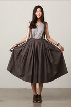 army green skirt JAMYStyle by shez skirt