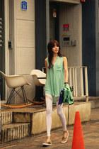 aquamarine blouse JAMYRedopin blouse