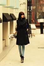 black jacket JAMYRedopin jacket - black shoes JAMYRedopin shoes