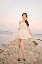 ivory dress JAMYBongjashop dress