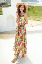 floral dress JAMYStyleberry dress