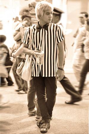 striped Elvie shirt
