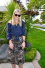 Vintage-dress-anthropologie-shirt-chanel-sunglasses-jessica-simpson-heels-