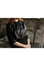 Black-front-row-shop-dress-black-river-island-bag-black-h-m-skirt