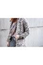 Gray-cheap-monday-boots-silver-choies-coat-charcoal-gray-zara-bag