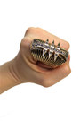 Spike-knuckle-ring