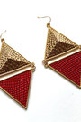 Retro Triangle Rings