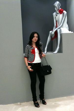 black from japan jacket - white Topshop shirt - black Harajuku Lovers By Gwen St
