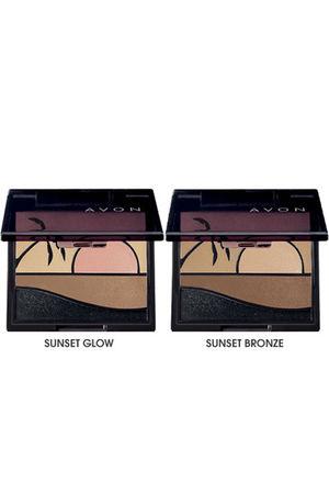 beige Avon accessories - brown Avon accessories