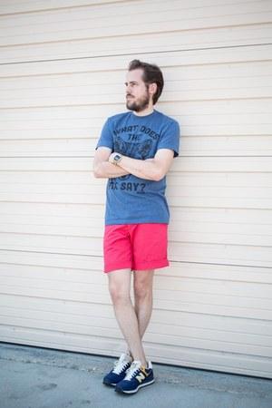 blue Target shirt