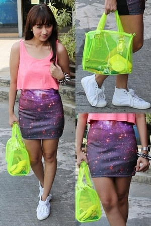 street style Topshop sneakers - plastic sm accessories bag