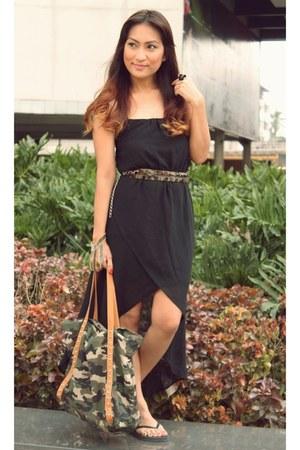 Mango bag - Topshop accessories - Zara belt - cotton on sandals