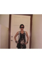 Mango vest - LoveCulture shirt - rayban sunglasses