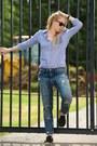 Navy-boyfriend-current-elliott-jeans-blue-stripe-band-of-outsiders-shirt