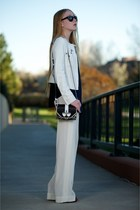 white versace jacket - black coney shoulder Givenchy bag