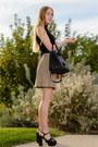 Black-leather-saint-laurent-bag-black-platform-saint-laurent-sandals
