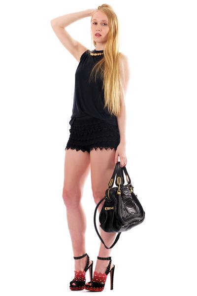 Black Fiona ALC Ts, Shirts, Black Python Paraty Chloe Bags ...