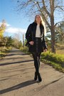 Black-patent-alaia-boots-black-shearling-burberry-jacket