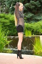 black Dolce & Gabbana shoes - black Elizabeth and James shirt