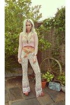 bubble gum MinkPink jumper - light pink Spell Designs pants