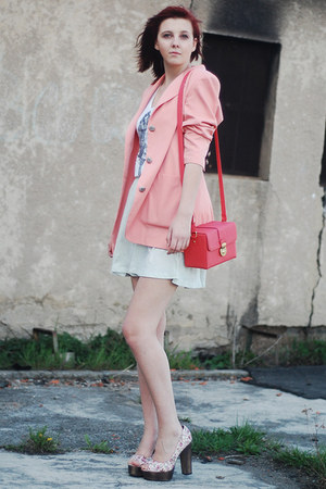 SH blazer - H&M skirt