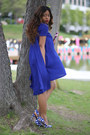 Blue-miu-miu-heels-navy-asoscom-dress-periwinkle-levis-jacket