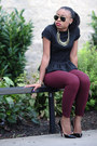 Jcrew-pants-peplum-zara-blouse-christian-louboutin-pumps