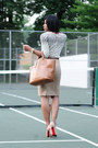 Beige-christian-louboutin-pumps-tawny-zara-bag-beige-polka-dots-jcrew-top