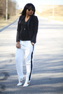 Black-h-m-blazer-white-tuxedo-asos-pants-black-forever21-top