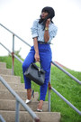 Silver-zara-shoes-light-blue-forever-21-shirt-black-aldo-bag