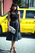 H&M skirt - Forever 21 top - Zara heels