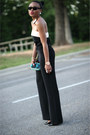 Dark-green-asos-bag-black-jumpsuit-zara-pants-camel-h-m-trend-necklace