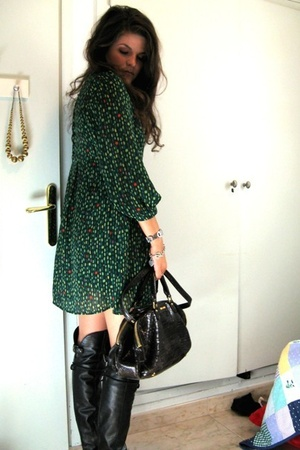H&M dress - Zara shoes - Miu Miu purse