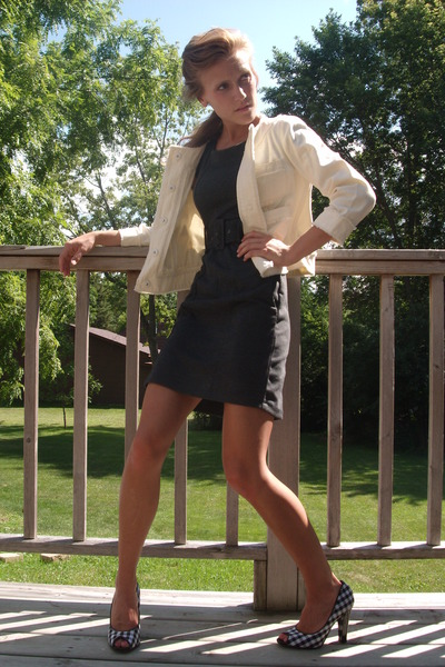 H&M dress - Gap jacket - Steve Madden shoes