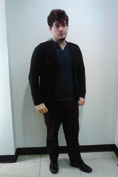 Marc Anthony cardigan - Helix shirt