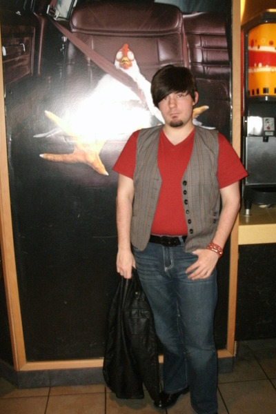Hanes t-shirt - Reletivity vest