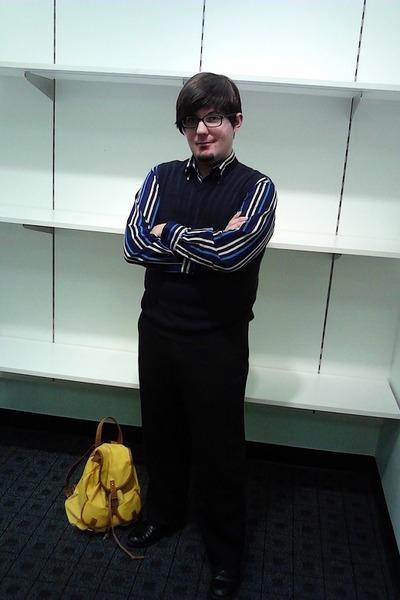rue21 bag - George shirt - calvin klein pants