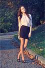 Bershka-blouse-pull-bear-skirt