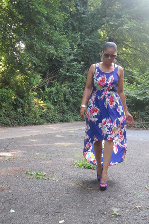maxi dress Mossimo dress - Vogue sunglasses - Steve Madden heels